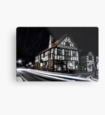 Northwich at night 16 Metal Print