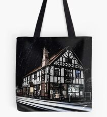 Northwich at night 16 Tote Bag