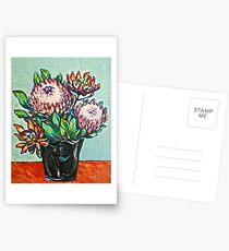 Proteas. Oil on linen 56x44cm  2012 Postcards