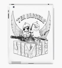 TEA-BAGGERS 4LYFE (INK) iPad Case/Skin