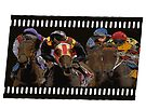Horse Racing on a Film Strip by Ginny Luttrell