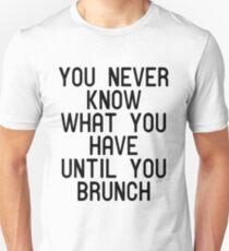 Funny Brunch T Shirt T-Shirt
