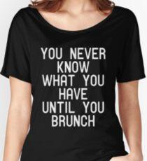 Funny Brunch T Shirt Women's Relaxed Fit T-Shirt