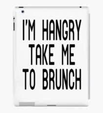 Funny Brunch T Shirt iPad Case/Skin