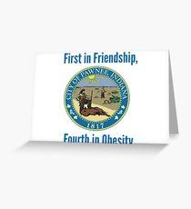 Pawnee, Indiana Greeting Card