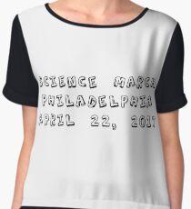 Science March - Philadelphia Chiffon Top