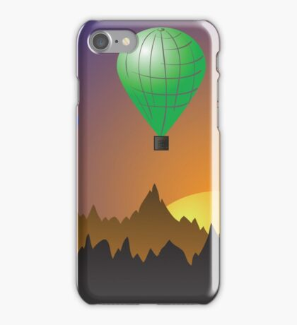 Colored balloons iPhone Case/Skin