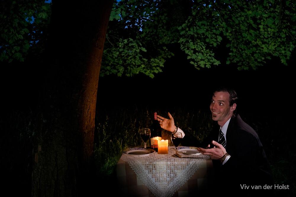 Tree huggers, the dinner date by Viv van der Holst