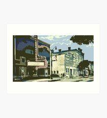 Rivoli & Washington House Inn - Cedarburg WI (muted) Art Print