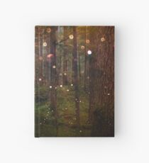 Forest Trees Nature Path - Magical Midsummer Night's Dream Hardcover Journal