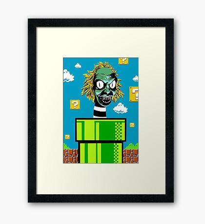 Piranha Juice Framed Print