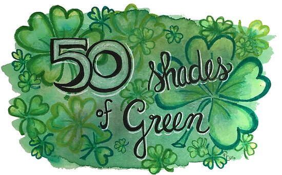 50 Shades of Green by ACarlo