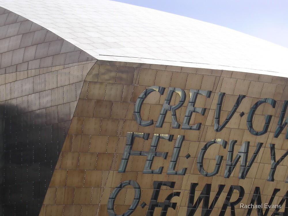 Millenium Centre Cardiff by Rachael Evans