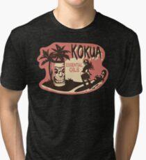 Kokua Essential Oils Logo  Tri-blend T-Shirt