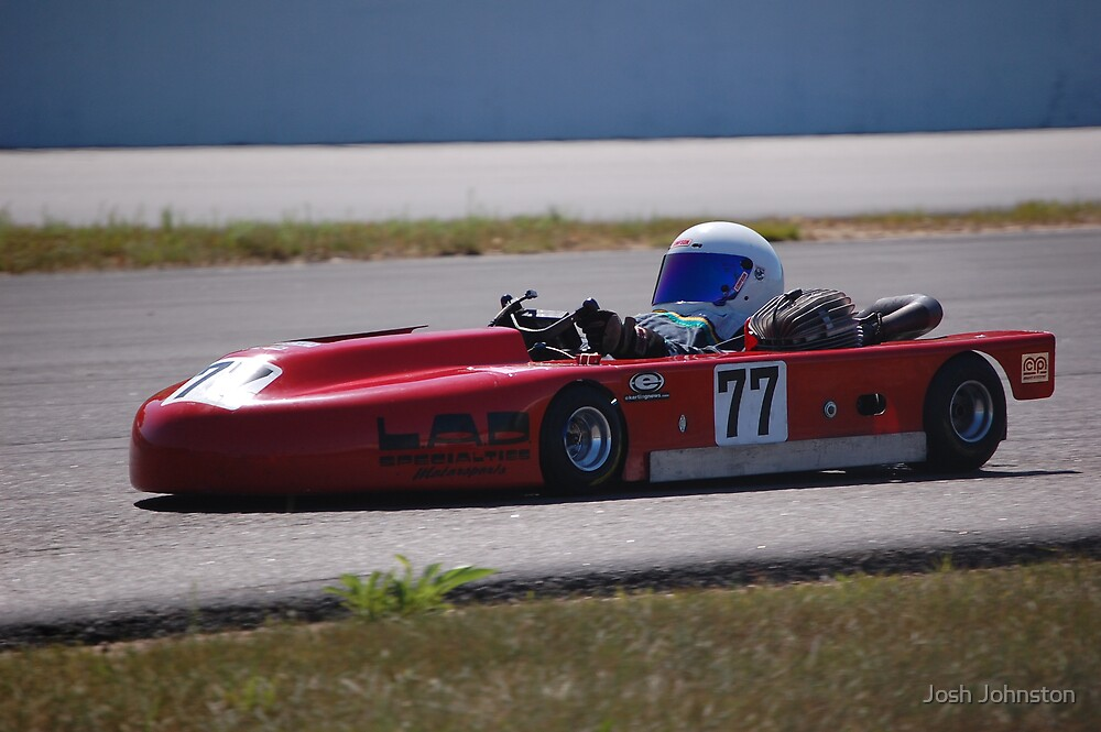 Lay-Down Racer 1 by Josh Johnston