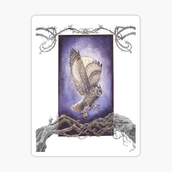 Bearing Three Hallowed Wings Sticker