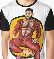 Bullethole Longjohns: State of the Union Graphic T-Shirt