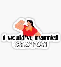 Movie: Beauty and the Beast (Gaston) Sticker