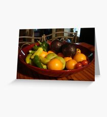 bountiful Harvest Greeting Card