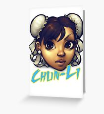 Chun-Li Greeting Card
