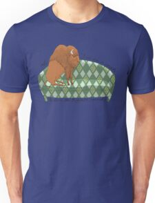 Buffalo on Couch nap time T-Shirt