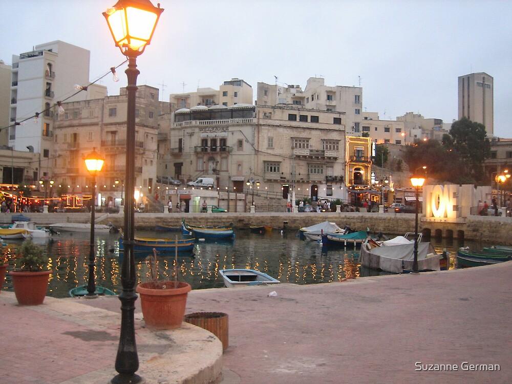 Spinola Bay, St Julian;s - Malta. by Suzanne German