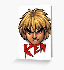 Ken Greeting Card