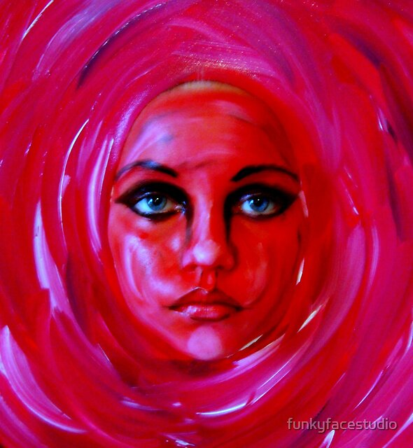"""A Person of a Painting...............""""Rose 2""""  by funkyfacestudio"""