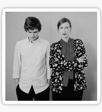 TV Show: Bates Motel (Vera + Freddie) Sticker