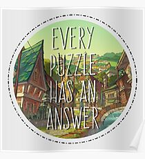 Every Puzzle Poster