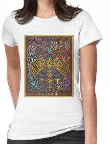 Yu-Gi-Oh #01 Womens Fitted T-Shirt