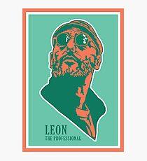 Leon Photographic Print