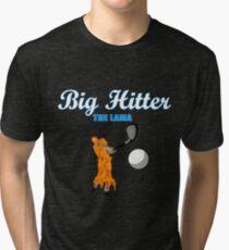big hitter Llama - caddyshack Tri-blend T-Shirt