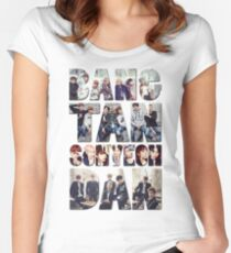 BTS  Women's Fitted Scoop T-Shirt
