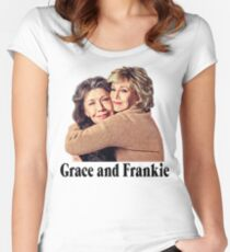 Grace and Frankie Hug 2 Women's Fitted Scoop T-Shirt