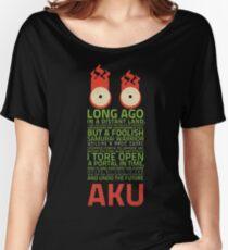 aku samurai jack  Women's Relaxed Fit T-Shirt