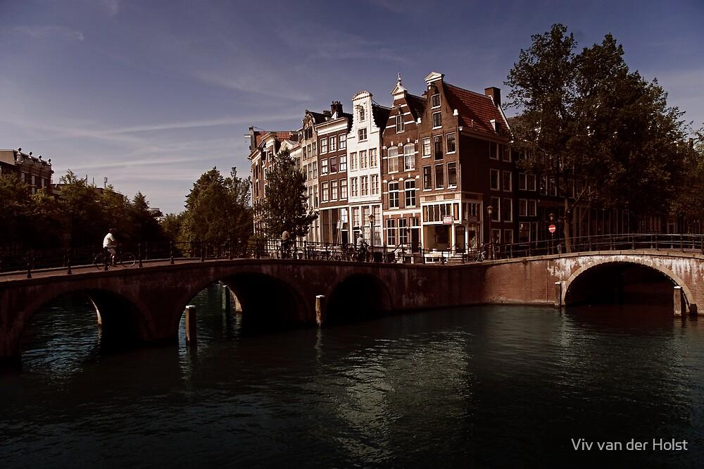 Keizers gracht, Amsterdam by Viv van der Holst