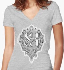 Sherlock Holmes - Consulting Detective Women's Fitted V-Neck T-Shirt