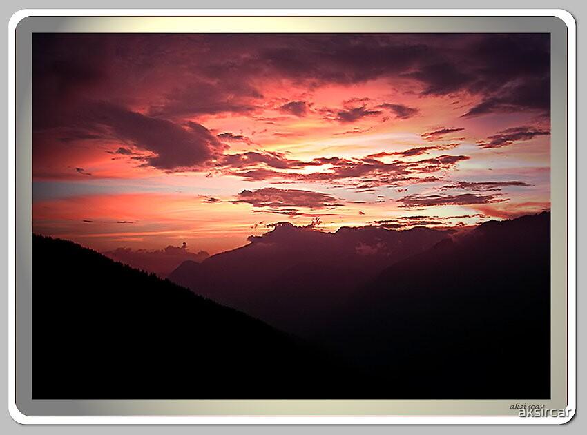 Sunset at Sarhan by aksircar
