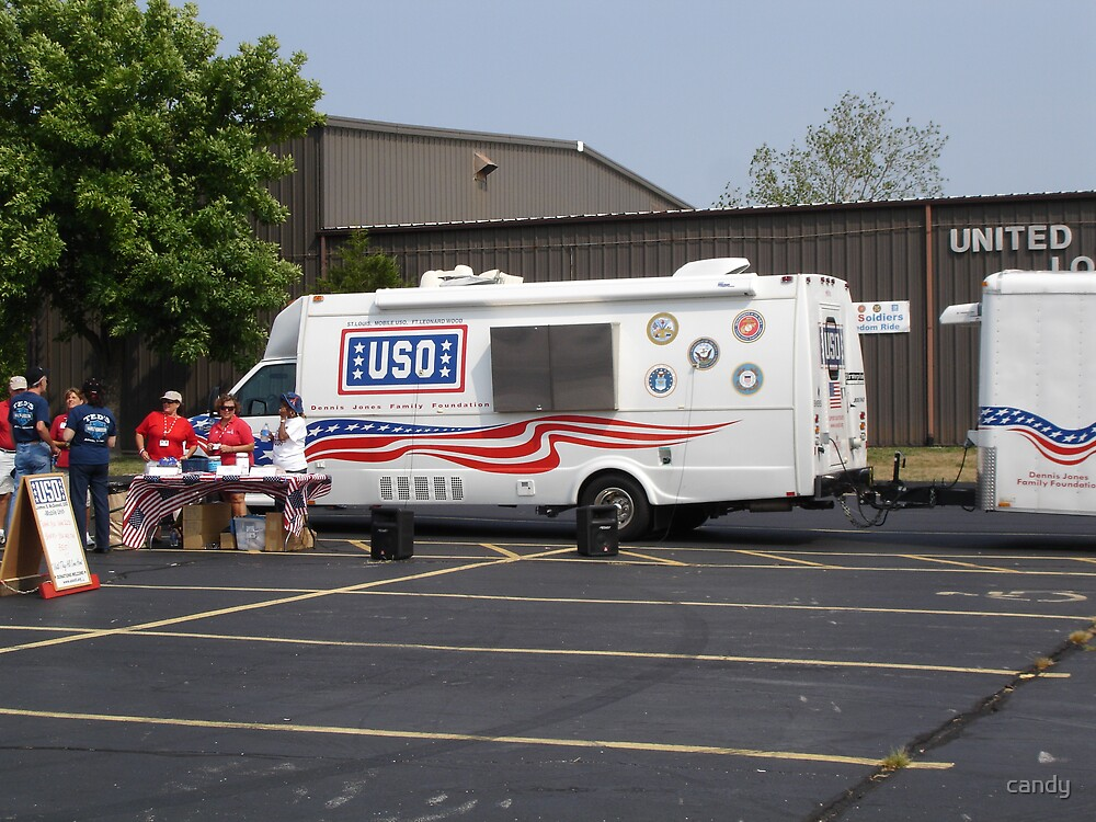USO Bike Ride by candy