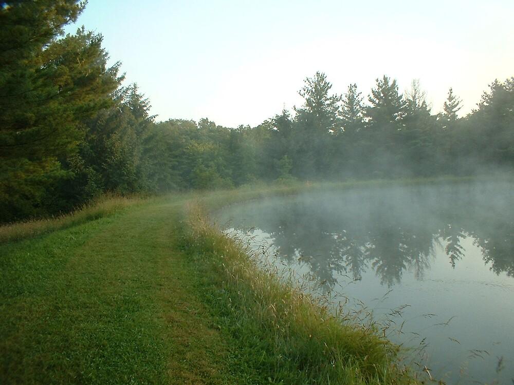 Morning Mist 3 by Joseph Klatka