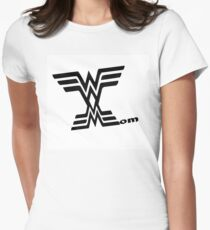 Wonder mom mothers day wall art Women's Fitted T-Shirt