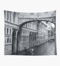 The Bridge of Sighs in Venice Italy Travel Water Architecture Landscape Wall Tapestry