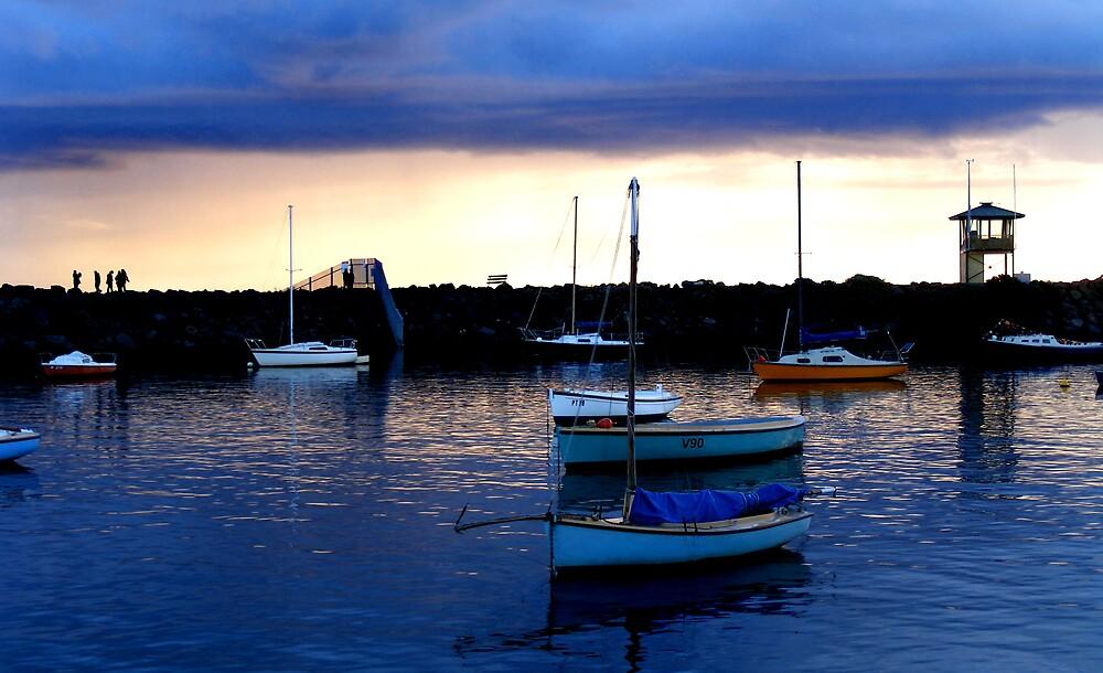 St Kilda Boats by Bruce  Watson