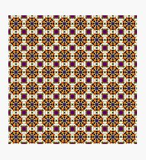 brown fractal pattern Photographic Print