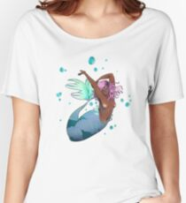 Tranquil Mermaid Women's Relaxed Fit T-Shirt
