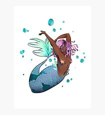Tranquil Mermaid Photographic Print