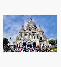 Sacre-Coeur Basilica Study 1  Photographic Print