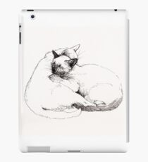 Chinky and Chang : ink drawing iPad Case/Skin
