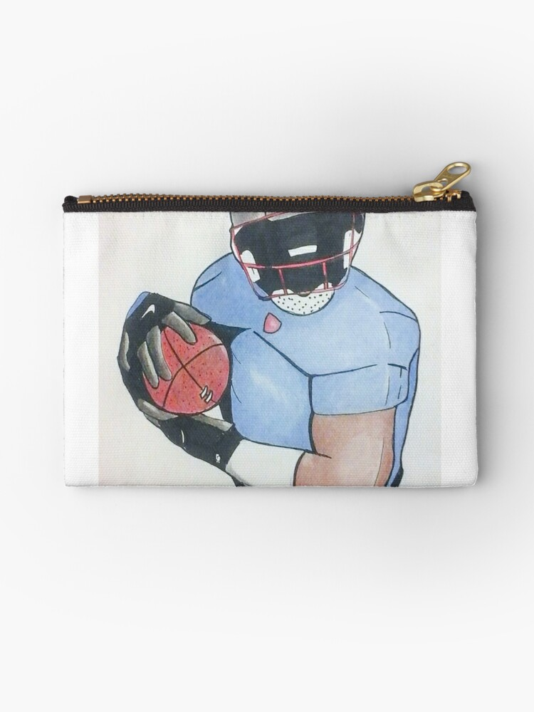 Football Player by Loretta Nash